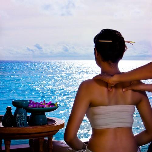 Outdoor Spa Massage