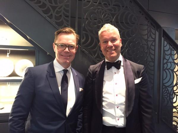 12 Stig Andersen (tv) og Mads Christensen