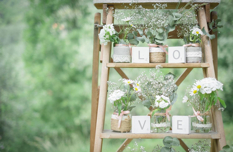 blomster på brylluppet