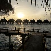 honeymoon på Maldiverne