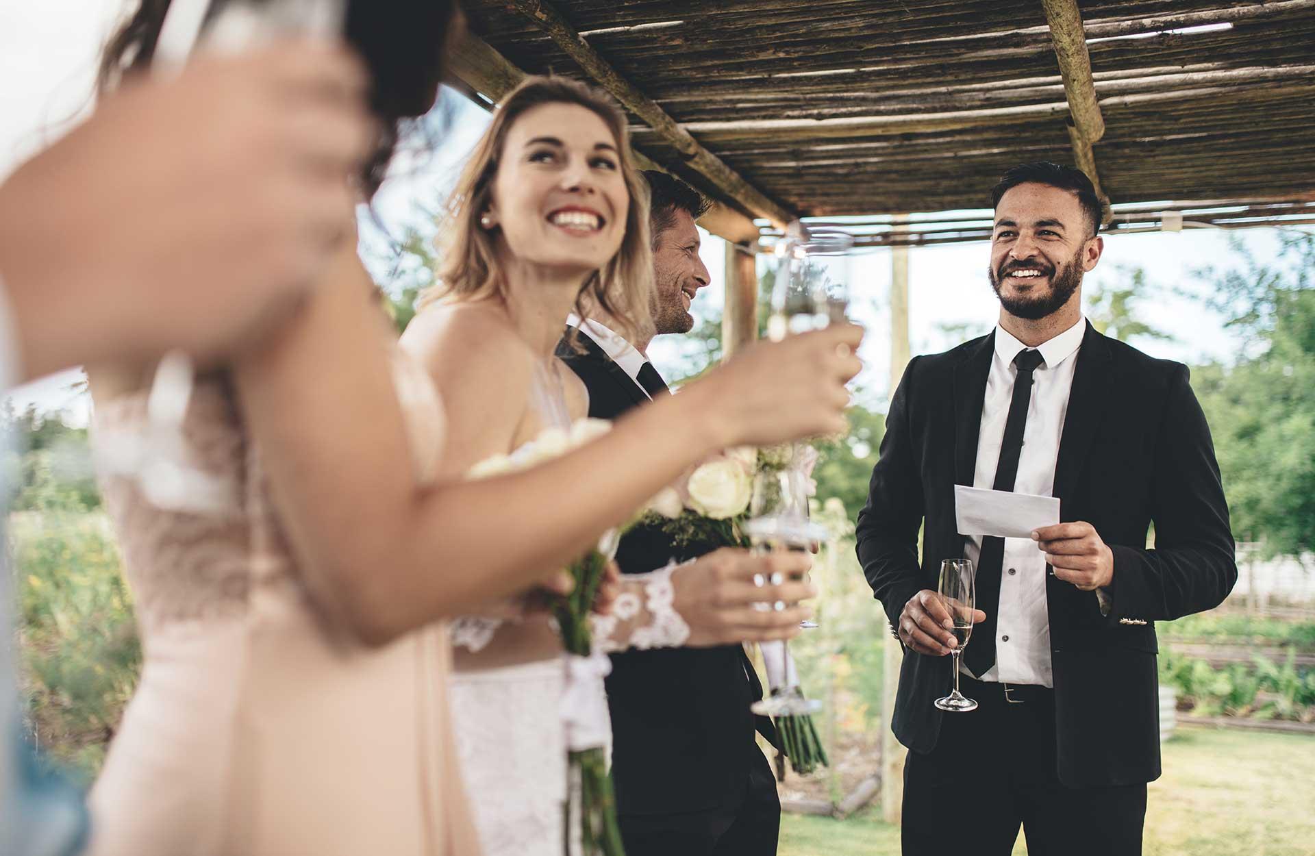 bryllupsfest toastmaster